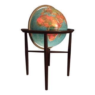 Replogle Modern Lighted Floor Globe For Sale