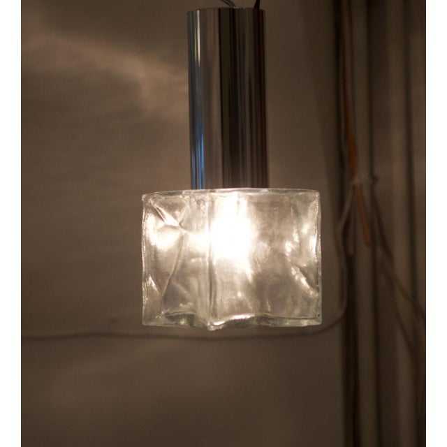 Steel frame chrome-plated wall lamp with one E14 socket. This listing is for a single unit but 2 are available.