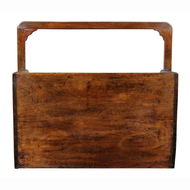 Wood George III Mahogany Book Carrier For Sale - Image 7 of 8