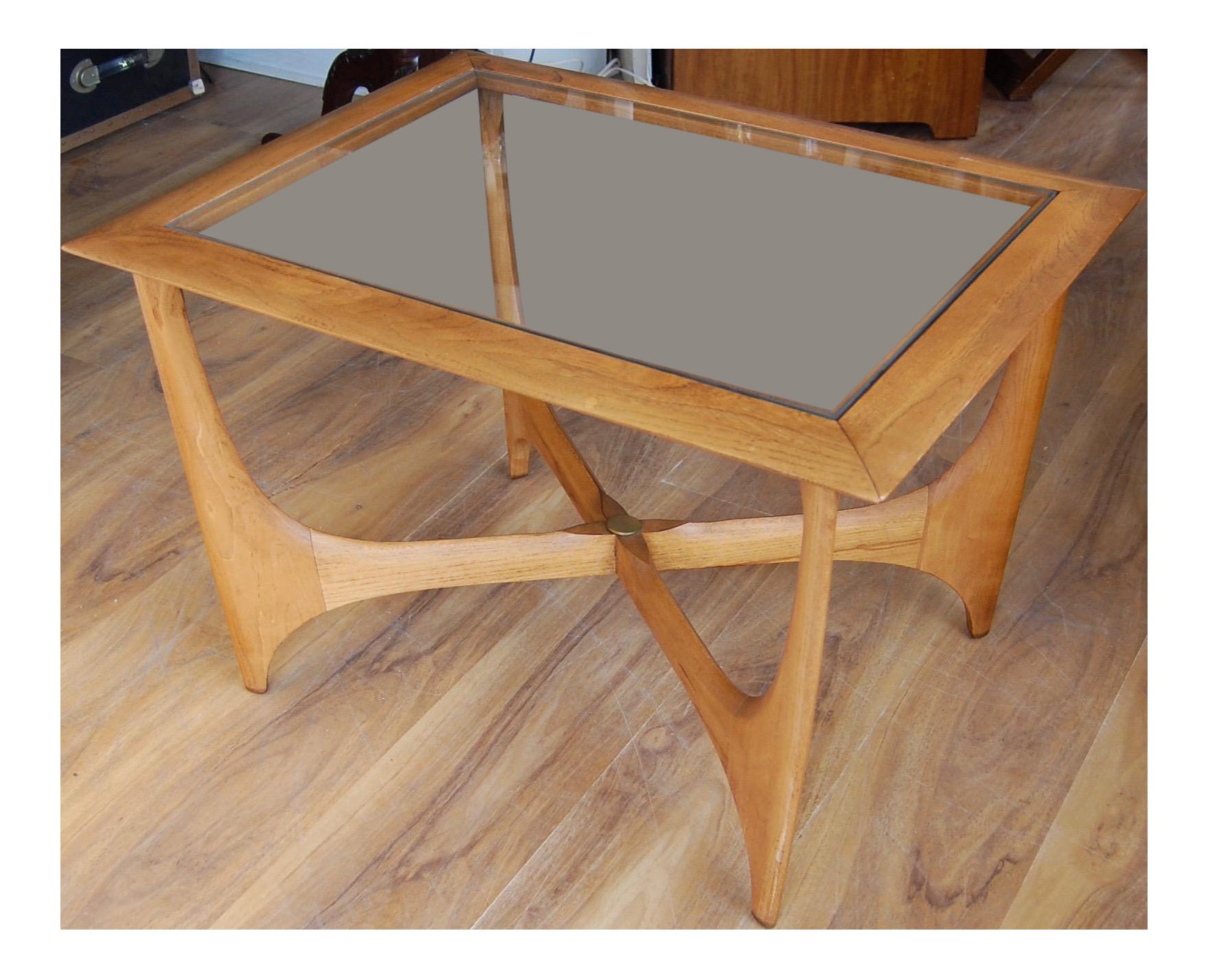Mid Century Modern Danish Coffee Table