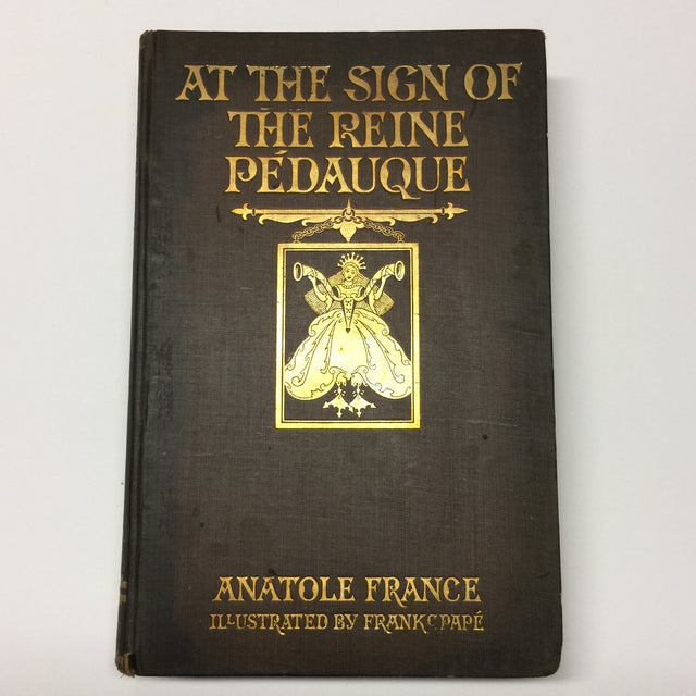 Black 1922 Anatole France at the Sign of the Reine Pedauque For Sale - Image 8 of 8