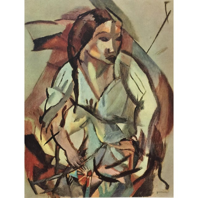 1954 Portfolio of 25 Color Stone Lithograph Prints by Jules Pascin For Sale - Image 9 of 13