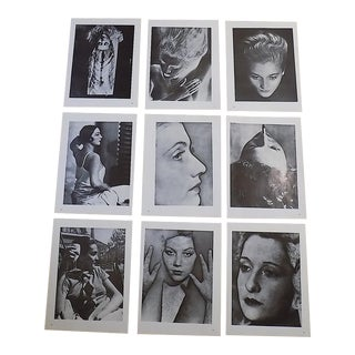 Vintage Photographic Prints-Man Ray-Surrealism-Female Nudes-Set of 9 For Sale