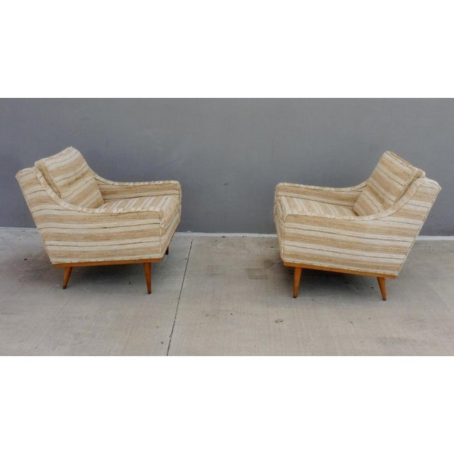 1960s 1960s Mid-Century Modern Milo Baughman for James Inc Articulate Lounge Chairs - a Pair For Sale - Image 5 of 11