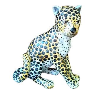 Vintage Cheetah Cub Figurine For Sale