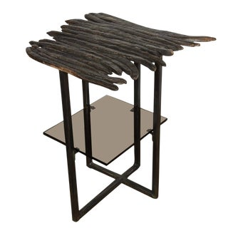 Paul Marra Cast Bronze Pod Table For Sale