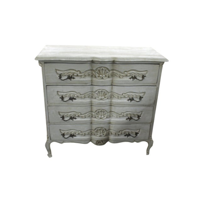 20th Century Vintage French Baroque Style Chest For Sale
