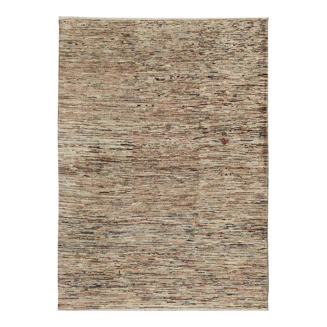 Contemporary Hand Woven Rug - 4' X 5'9 - Image 1 of 4
