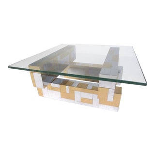 "Vintage ""Cityscape"" Coffee Table by Paul Evans For Sale"