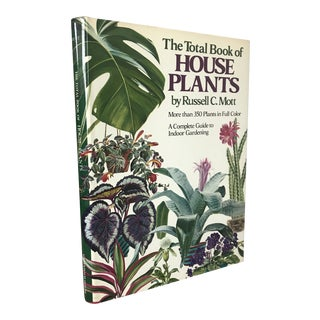 """The Total Book of House Plants"" 1985 Edition Book For Sale"