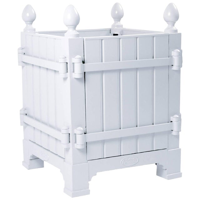 French Caisse De Versailles Planter Box Medium Size For Sale