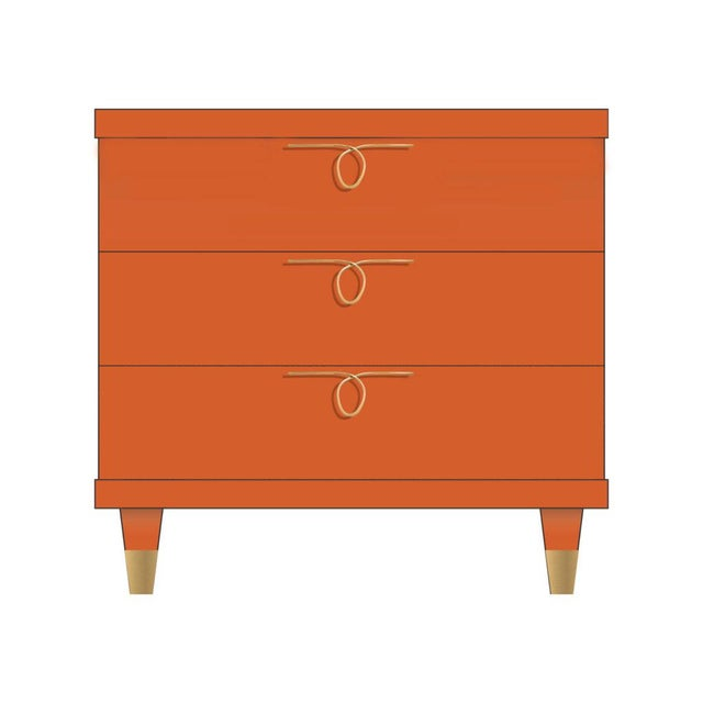 Contemporary Chloe Dresser Small For Sale - Image 3 of 3