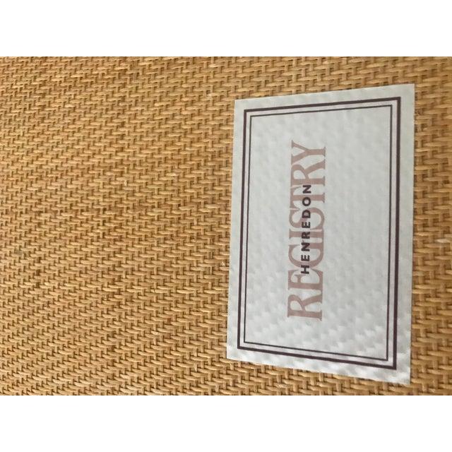 2000 - 2009 Henredon Mahogany Chaise Lounge For Sale - Image 5 of 6