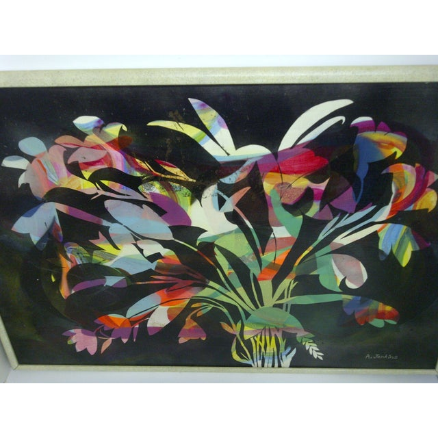 Multicolor Floral Painting by Aldrich Jenkins - Image 3 of 7