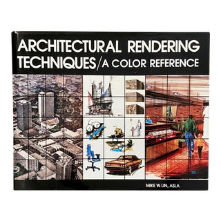 Vintage Architectural Rendering Techniques/A Color Reference For Sale