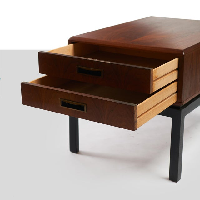 Harvey Probber two toned night stands in the style of Harvey Probber - A pair For Sale - Image 4 of 6