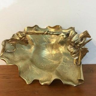Austrian Gilt Bronze Bird Motif Basket Preview