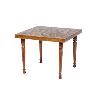 Tramp-Art Style Coffee Table For Sale