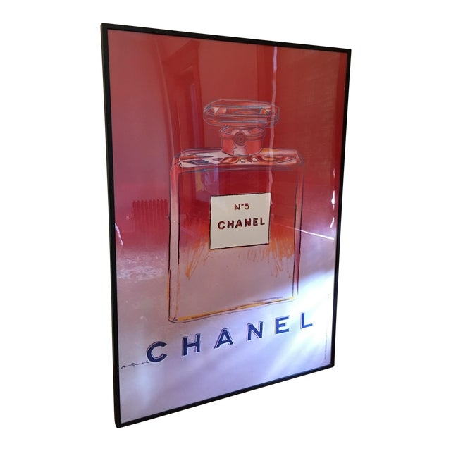Andy Warhol 'Chanel No. 5' Framed Print For Sale