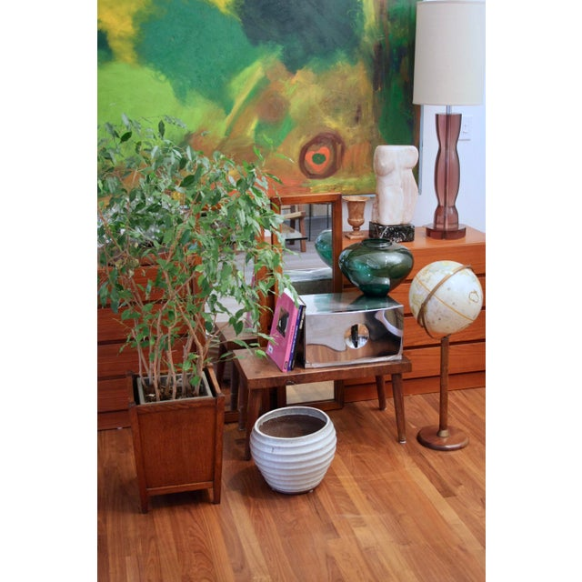 "Large (14.5"") Carved Marble Modern Torso / Nude For Sale - Image 4 of 10"