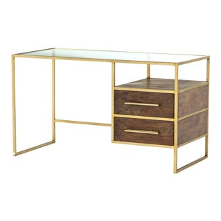 Contemporary Erdos + Ko Home Riviera Writing Desk For Sale