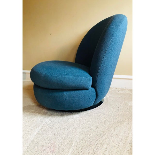 1960s Milo Baughman Swivel & Tilt Lounge Chairs, 1960's - a Pair For Sale - Image 5 of 8