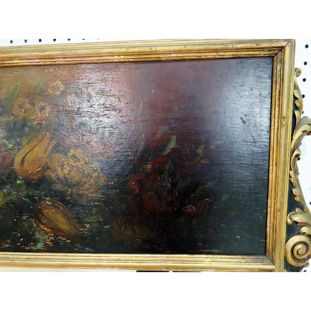 Early 20th Century Antique Regency Style Trumeau Mirror For Sale - Image 5 of 13