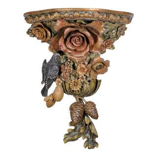 Carved Resin Bird Bracket For Sale