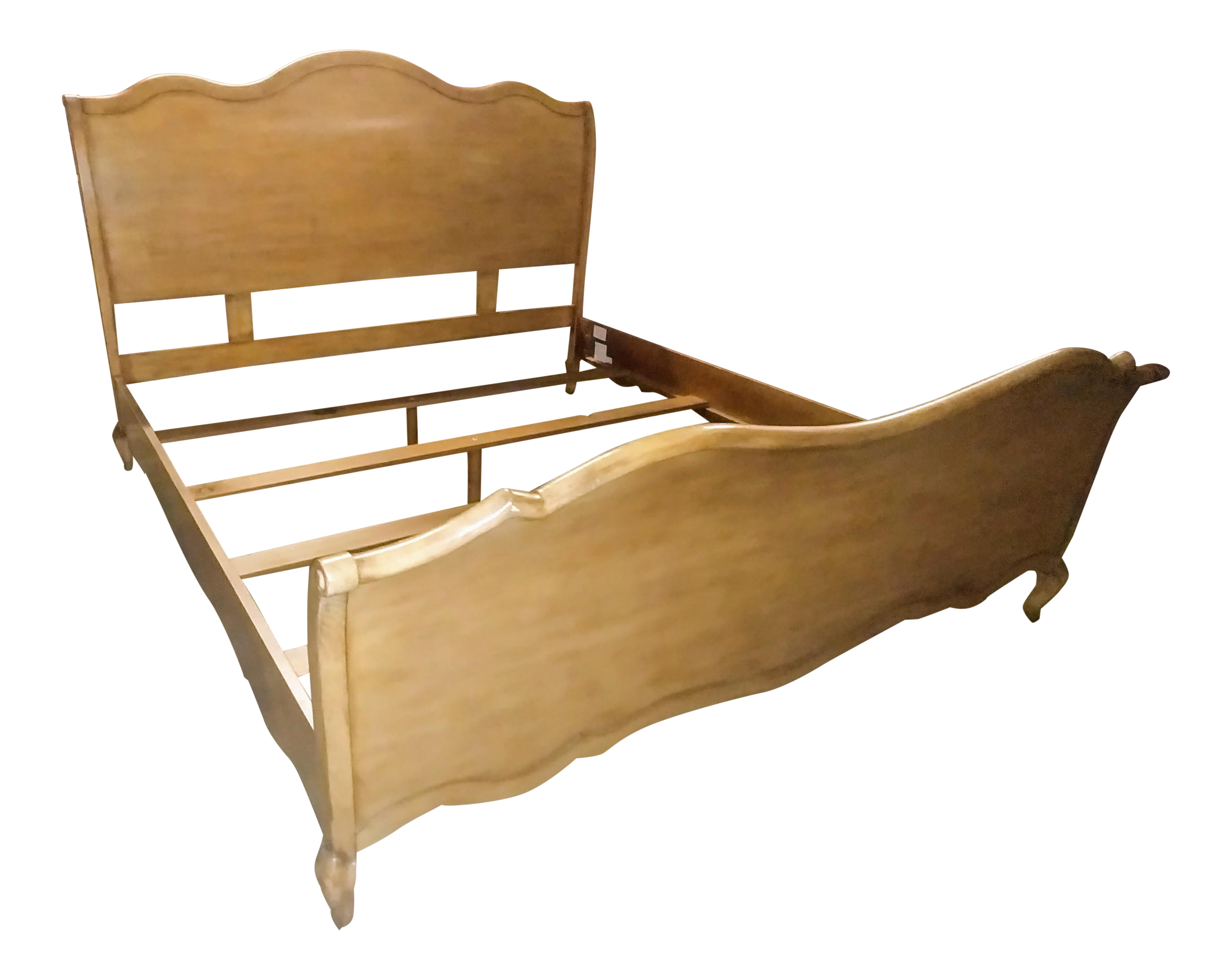 Drexel Heritage Furniture Maple King Sleigh Bed Chairish