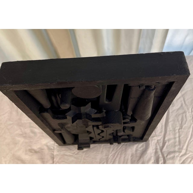 Contemporary Assemblage Sculpture After Louise Nevelson For Sale In Palm Springs - Image 6 of 7