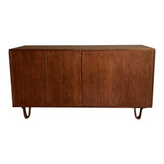 Birch Credenza Sideboard by Cees Braakman for Pastoe, Combex Series, Holland, 1950s For Sale