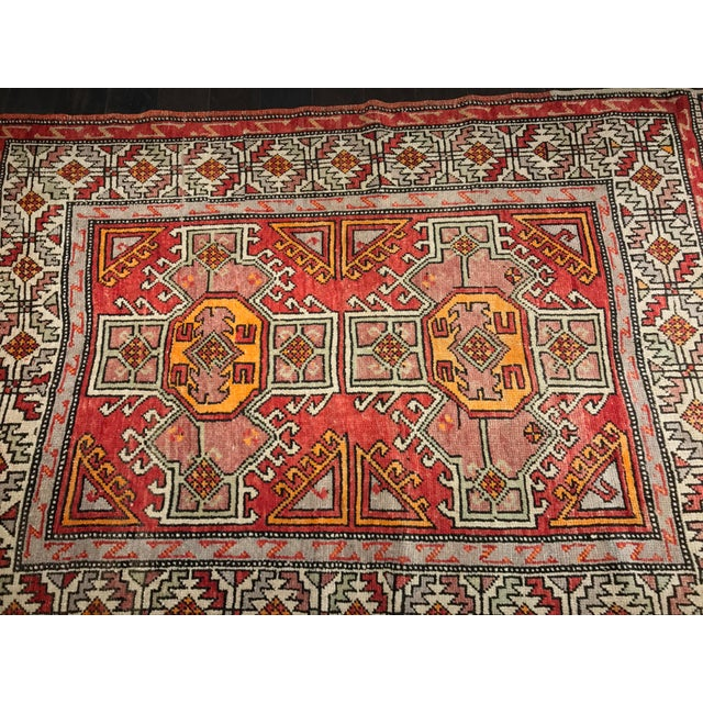 """Bellwether Rugs Vintage Turkish Oushak Small Area Rug - 4'4""""x6'6"""" - Image 3 of 11"""