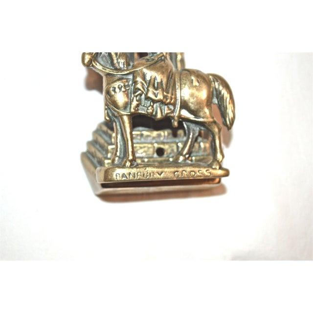 Brass Ireland's St. Brigid Door Knocker For Sale - Image 7 of 9
