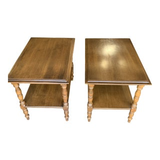 Conant Ball End Tables - a Pair For Sale