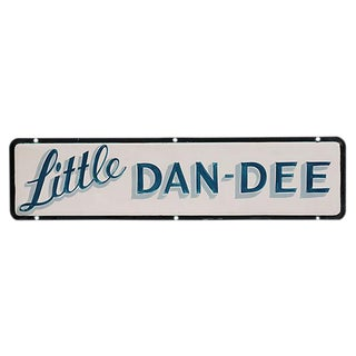 Little Dan-Dee Sign For Sale