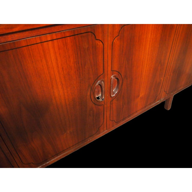 Danish Modern Mid-Century Danish Rosewood Credenza For Sale - Image 3 of 5