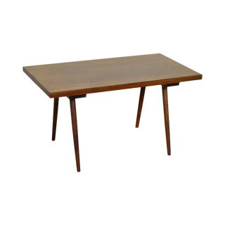 New Hope School Walnut Mid Century Coffee Table For Sale
