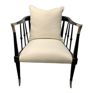 Caracole Black Beauty Chair For Sale
