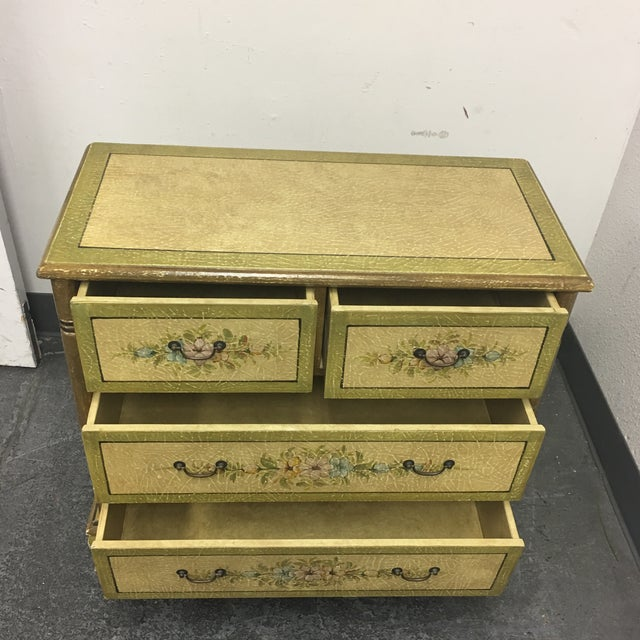 Hand Painted Four Drawer Chest - Image 4 of 10