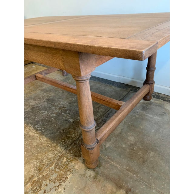 Early 20th Century Antique French Farm Dining Table For Sale - Image 5 of 9