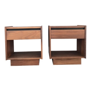 Dillingham Mid-Century Nightstands - A Pair