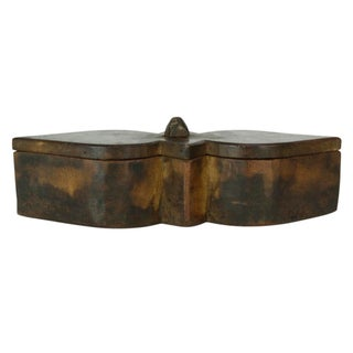 Vintage Wood Tikka Box Preview
