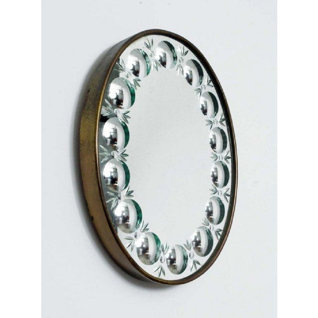 1950s Piero Fornasetti Mirror For Sale - Image 5 of 5