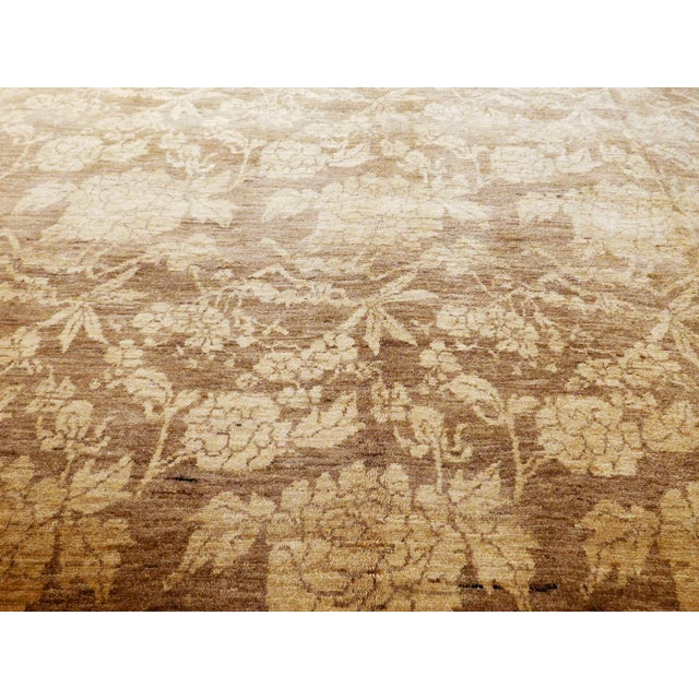 "Traditional Hand Knotted Persian Rug - 6'8""x 8' For Sale - Image 3 of 10"