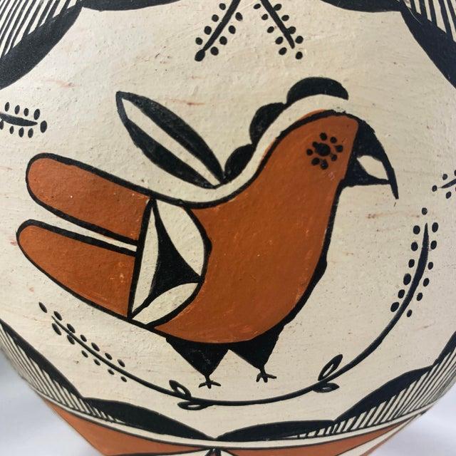 Southwestern Polychrome Parrot Jar For Sale In Denver - Image 6 of 13