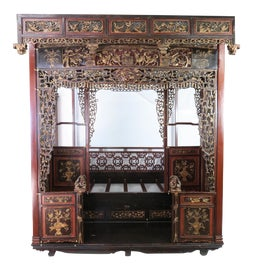 Image of Asian Four Poster and Canopy Beds