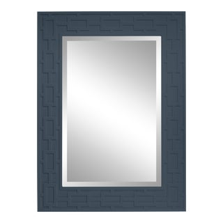 Lattice Mirror, Hale Navy For Sale