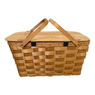 Vintage Putney Picnic Basket For Sale