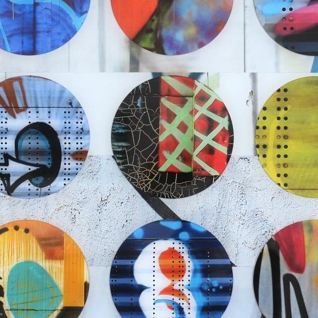 "Wood ""Twister #17"" Original Artwork by Nicola Katsikis For Sale - Image 7 of 10"