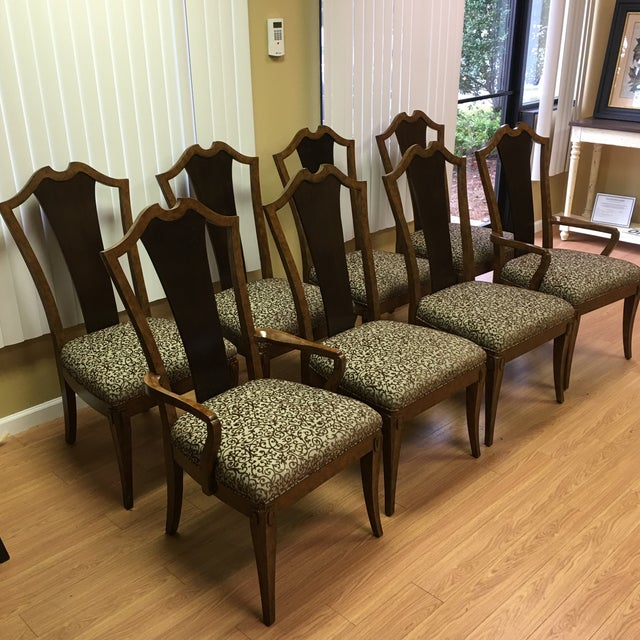 Henredon Frame Dining Chairs - Set of 8 - Image 2 of 9